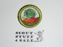 Gardening 38mm - Type I - Fully Embroidered Computer Designed Merit Badge (1993-1995)