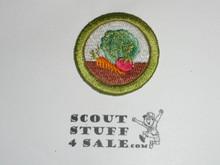 Gardening 42mm - Type I - Fully Embroidered Computer Designed Merit Badge (1993-1995)