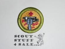 Journalism 38mm - Type I - Fully Embroidered Computer Designed Merit Badge (1993-1995)