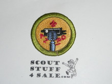 Journalism 42mm - Type I - Fully Embroidered Computer Designed Merit Badge (1993-1995)