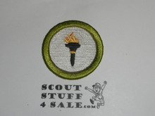 Public Health 42mm - Type I - Fully Embroidered Computer Designed Merit Badge (1993-1995)