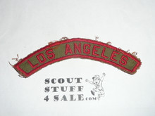 LOS ANGELES Khaki and Red Community Strip, lite use