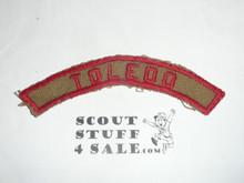 TOLEDO Khaki and Red Community Strip, lite use