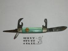 Girl Scout Pocket Knife, Kutmaster Manufacture, Lite Use (CSE65)
