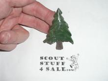 Pine Tree Plaster Neckerchief Slide