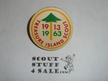 Treasure Island 1963 50th Anniversary Neckerchief Slide