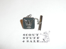 Eagle Scout Tie Tack / Pin, STERLING with CNY Hallmark