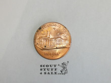 United States Treasury Department San Francisco Mint 1874-1937 Coin, Copper color