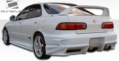 Acura Integra 4DR Bomber Duraflex Rear Body Kit Bumper 1994-2001
