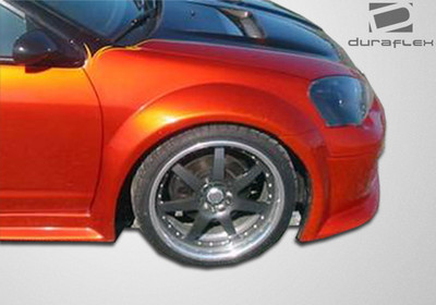 Acura RSX GT300 Duraflex Body Kit- Wide Fenders 2002-2006