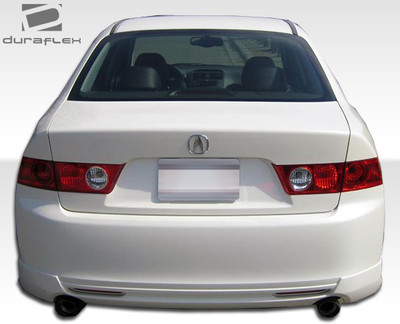 Acura TSX J-Spec Duraflex Rear Body Kit Bumper 2004-2005
