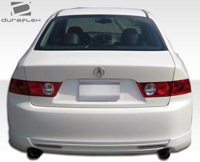Acura TSX J-Spec Duraflex Rear Body Kit Bumper 2004-2005