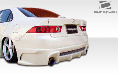 Acura TSX Raven Duraflex Rear Body Kit Bumper 2004-2008