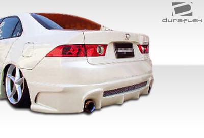Acura TSX Raven Duraflex Rear Body Kit Bumper 2004-2008