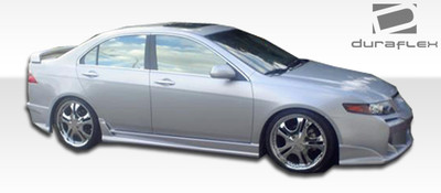 Acura TSX Raven Duraflex Side Skirts Body Kit 2004-2008
