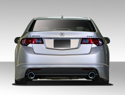 Acura TSX Type M Duraflex Rear Body Kit Bumper 2009-2010