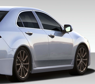 Acura TSX Type M Duraflex Side Skirts Body Kit 2009-2010