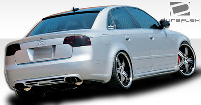Audi A4 4DR A-Tech Duraflex Side Skirts Body Kit 2002-2008