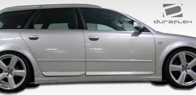Audi A4 4DR OTG Duraflex Side Skirts Body Kit 2002-2008