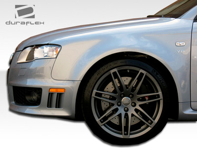 Audi A4 4DR RS4 Duraflex Body Kit- Wide Fenders 2006-2008