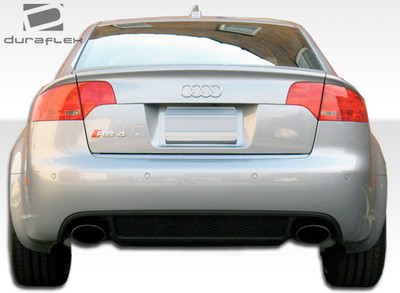 Audi A4 4DR RS4 Duraflex Rear Wide Body Kit Bumper 2006-2008