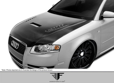 Audi A4 AF-1 Aero Function (CFP) Body Kit- Hood 2006-2008