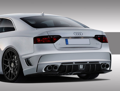 Audi A5 Eros Version 1 Duraflex Rear Body Kit Bumper 2008-2015