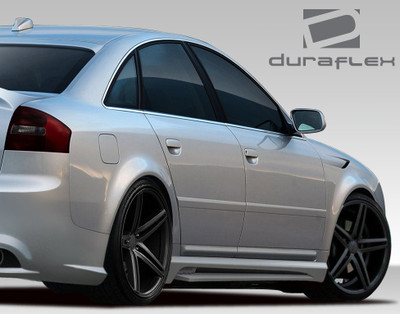 Audi A6 4DR CT-R Duraflex Side Skirts Body Kit 1998-2004