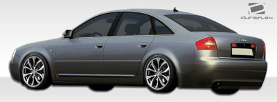 Audi A6 4DR Type A Duraflex Side Skirts Body Kit 1998-2004