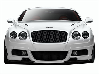 Bentley Continental AF-1 Aero Function Front Body Kit Bumper 2003-2010
