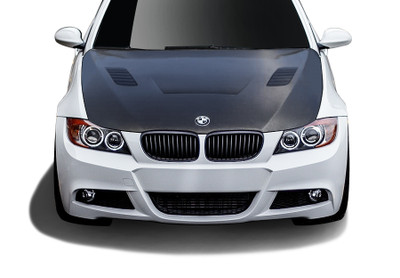 BMW 3 Series 2DR AF-1 Aero Function (CFP) Body Kit- Hood 2007-2010