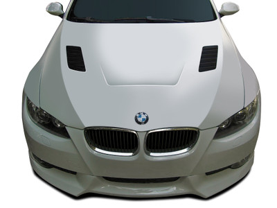 BMW 3 Series 2DR AF-1 Aero Function (GFK) Body Kit- Hood 2007-2010
