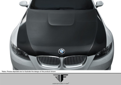 BMW 3 Series 2DR AF-2 Aero Function (CFP) Body Kit- Hood 2007-2010