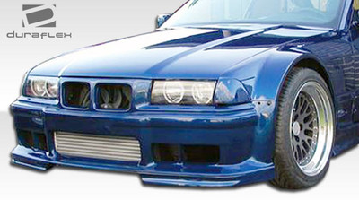 BMW 3 Series 2DR GT500 Duraflex Body Kit- Wide Fenders 1992-1998