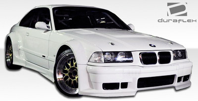 BMW 3 Series 2DR GT500 Duraflex Full Wide Body Kit 1992-1998