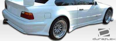 BMW 3 Series 2DR GT500 Duraflex Rear Wide Body Kit Bumper 1992-1998