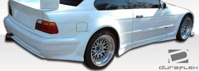 BMW 3 Series 2DR GT500 Duraflex Rear Wide Body Kit Bumper 1992-1998
