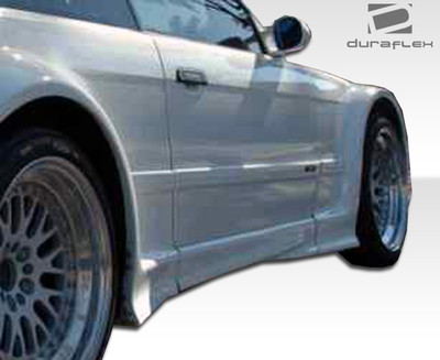 BMW 3 Series 2DR GT500 Duraflex Side Skirts for Wide Body Kit 1992-1998