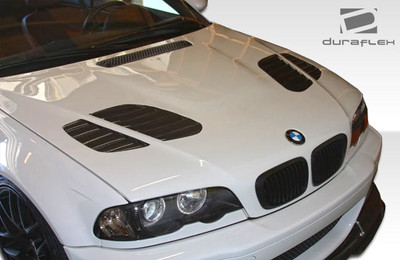 BMW 3 Series 2DR GT-R Duraflex Body Kit- Hood 1999-2006