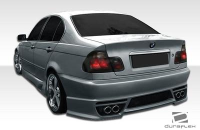 BMW 3 Series 2DR I-Design Duraflex Rear Body Kit Bumper 1999-2005
