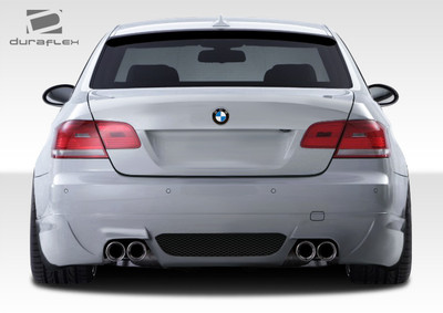 BMW 3 Series 2DR LM-S Duraflex Rear Body Kit Bumper 2007-2013