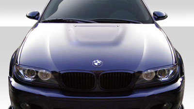 BMW 3 Series 2DR M3 Look Duraflex Body Kit- Hood 1999-2006