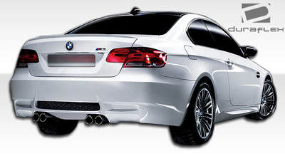 BMW 3 Series 2DR M3 Look Duraflex Rear Body Kit Bumper 2007-2013