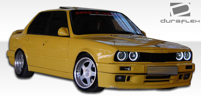 BMW 3 Series 2DR M-Tech Duraflex Full 4 Pcs Body Kit 1984-1987