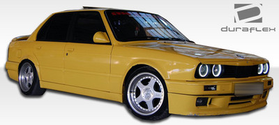 BMW 3 Series 2DR M-Tech Duraflex Side Skirts Body Kit 1984-1991