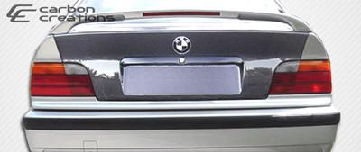 BMW 3 Series 2DR OEM Carbon Fiber Creations Body Kit-Trunk/Hatch 1992-1998
