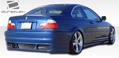 BMW 3 Series 2DR R-1 Duraflex Rear Body Kit Bumper 1999-2005