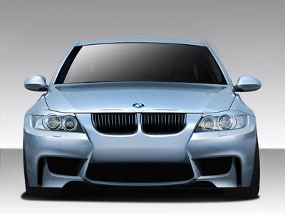 BMW 3 Series 4DR 1M Look Duraflex Front Body Kit Bumper 2006-2008