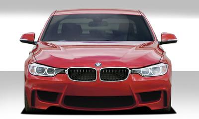 BMW 3 Series 4DR 1M Look Duraflex Front Body Kit Bumper 2012-2015