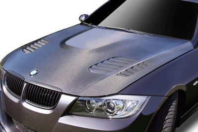 BMW 3 Series 4DR AF-1 Aero Function (CFP) Body Kit- Hood 2006-2008